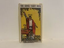 The Rider Tarot Deck COMPLETE 78-Cards in Full Color Arcana 1971 THE MAGICIAN