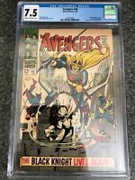 Avengers #48 CGC 7.5 VF- Very Fine- (Marvel 1968), First app of Black Knight III