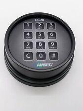 Amsec Esl20xl Black Keypad For Parts Not Working
