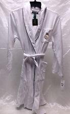 Lauren Ralph Lauren Shawl Collar Fleece Wrap Robe, White, Size M