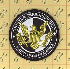 COUNTER TERRORIST UNIT CTU  Prop Patch Movie USA Shoulder Halloween USN Morale