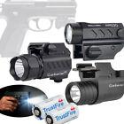 Tactical Pistol 20000lm LED Gun Flashlight Torch Light for 20mm Picatinny Rail