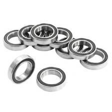 10 piezas 6802-2RS 15x24x5mm rodamientos rigidos de bolas metalicos protegi N7R6