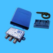 SPAUN DiseqC SAR 212 F Wetterschutz WSG Set 2/1 FULL HDTV 3D Schalter Umschalter