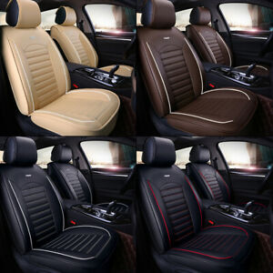 SUV or Van Salabomia Tribal Leopard Seat Covers Front Seats Only Full Set of 2 Heavy Protection Graphic Seat Cushions Brown Car Accessories Set Car Gifts for Truck