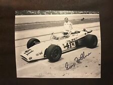 George Follmer Signed 8 X 10 Photo Indianapolis Indy 500 Autographed NASCAR