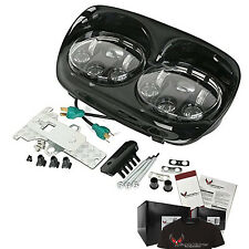 Harley Davidson Daymaker Road Glide LED Headlight Assembly  - Black
