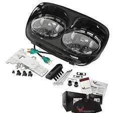 Harley Davidson Daymaker Road Glide LED Headlight Assembly  - Black