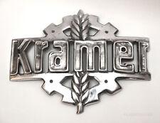 Kramer Emblem Logo Kühlergrill Schild Zeichen Traktor Schlepper Sign Motorhaube
