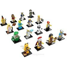 NEW LEGO 71001 Complete Set of 16 MINIFIGURES SERIES 10