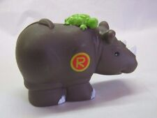 "RHINO ""R"" Fisher Price Little People Alphabet ZOO Replacement Animal A-Z Rare"