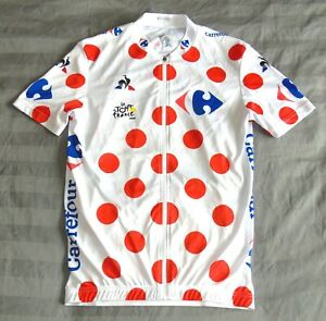 PERFECT 2018 TOUR DE FRANCE KING OF THE MOUNTAINS JERSEY. LE COQ SPORTIF SMALL