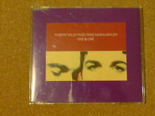 ROBERT MILES AND MARIA NAYLER - ONE AND ONE - CD SINGLE