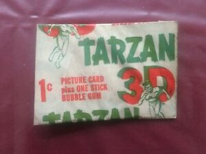 1953 Topps 3D Tarzan and the She Devil 1C Wax Pack