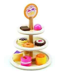 Hape E3135 Wooden Dessert Tower NEW