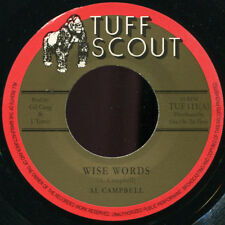 """Al Campbell - Wise Words NEW!!! Tuff Scout 111 7"""""""