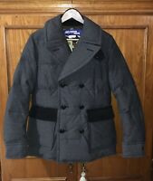 MEN  JUNYA WATANABE COMME DES GARCONS GREY  DOUBLE BRESTED JACKET S  CAMO LINING
