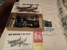MONOGRAM TWIN MUSTANG F-82G UNBUILT 1/72 SCALE MODEL AIRPLANE
