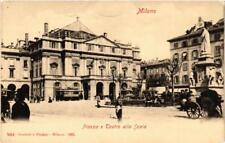 CPA Milano Piazza e Teatro alla Scala. ITALY (396304)