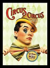 DR JIM STAMPS CIRCUS FASHION CARES EVENT CONTINENTAL SIZE POSTCARD CANADA