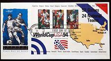 WORLD CUP USA 1994 - CAMPIONATI DEL MONDO DI CALCIO - 2 BUSTE FILATELICHE - [RV]