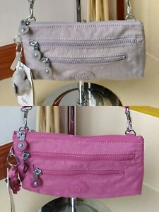 KIPLING #Laurie Convertible Crossbody Bag in Fig Purple and Grey