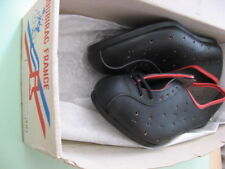 Cycling Shoes Road Vintage Real Leather Gr.39/40 Soubirac Made in France NOS