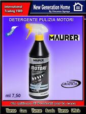 DETERGENTE SGRASSANTE  PER MOTORI  SPRAY MAURER PLUS 750 ML