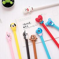 New Cute Kawaii Cartoon Gel Pen Black Ink Pens Students Stationery Office Supply