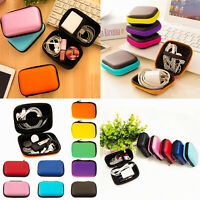 Portable Hard Storage Case Wire Organizer Box Power Bank Travel Bag for Earphone
