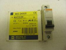 Square D Mg-24505 Circuit Breaker. Multi 9 C60. 1-Pole 277 8 Amp. A0805