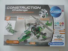 Spielzeug Konstruktionsspielzeug Bauset Helikopter + Airboat Galileo Clementoni