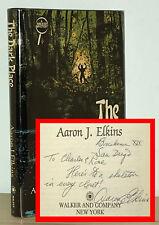 Aaron J Elkins - The Dark Place - SIGNED 1985 1st 1st - Scarce 2nd Novel - NR