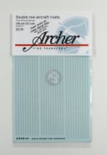 Archer 1/48 (& 1/32) Double Row Aircraft Rivets (.23mm with 3 spacings) AR88141