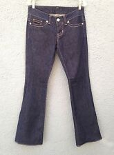 GUESS JEANS FOR WOMEN SIZE 28 DARK WASH BOOT CUT NEW