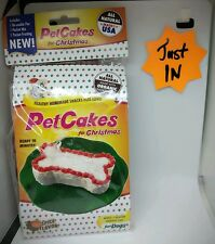 FUN  AND NEW PetCakes Kit for Dogs holiday christmas  spice flavor