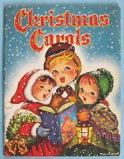 Vintage - 1942 - Whitman - Christmas Carols - Schlesinger Cover - Lohman Illus.