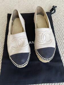 Chanel Espadrilles 36 Authentic