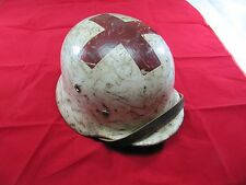 Original German Stahlhelm Steel Helmet M40 M-40 WWII WW2 - Size 64 Medic