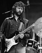 English Singer ERIC CLAPTON Glossy 8x10 Photo Music Print Rock & Roll Poster