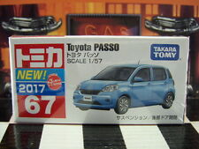 TOMICA #67 TOYOTA PASSO 1/57 SCALE NEW IN BOX
