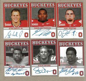 TK Legacy Ohio State Six Card Lot #4
