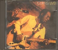 CURTIS MAYFIELD Curtis LIVE 12 track CD