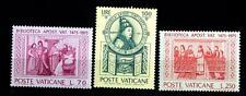 VATICANO - 1975 - 5° centenario della Biblioteca Apostolica Vaticana - Serie Com