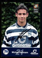 Michael Hartmann Hertha BSC Berlin 1997/98 TOP  + A 72745