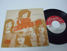 "LED ZEPPELIN Black Dog - PORTUGAL 7"" single UNIQUE SLEEVE alvorada label RARE"