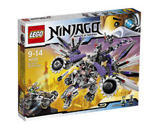 LEGO Ninjago Nindroid MechDragon #70725 incl. Evil Wu & Sensei Garmadon - BNIB!