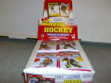 1X 1991-92 Score Hockey PACK : Bulk Lot Available : Box Fresh: Bobby Orr Insert