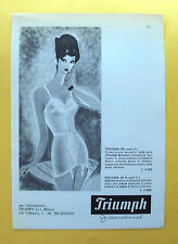 C503-Advertising Pubblicità-1959 - TRIUMPH INTERNATIONAL DE LUXE