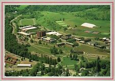 State University College of Technology, Delhi, New York, Aerial View -- Postcard